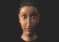 O rosto recriado pela egiptóloga revela uma mulher de etnia mista, com traços egipcios e herança grega.