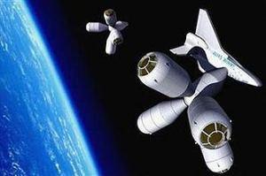 Reuters - concepção do Hotel Espacial